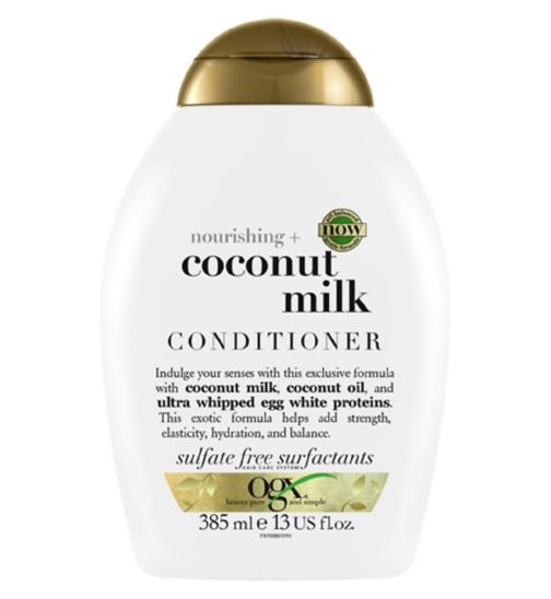 OGX Nourishing Coconut Milk Conditioner 384.5ml