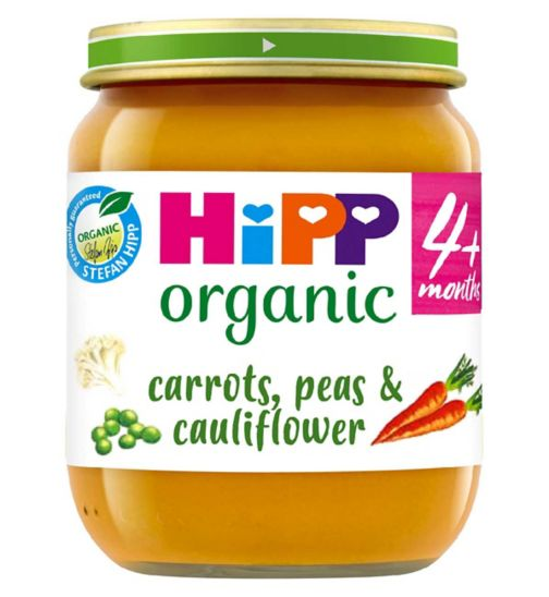 HiPP Organic Mixed Vegetable Medley 4+ Months 125g