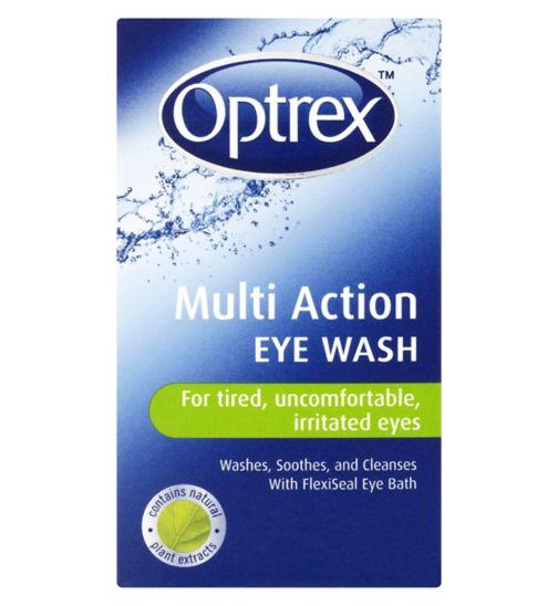 <p>Optrex Multi Action Eyewash - 100ml</p>