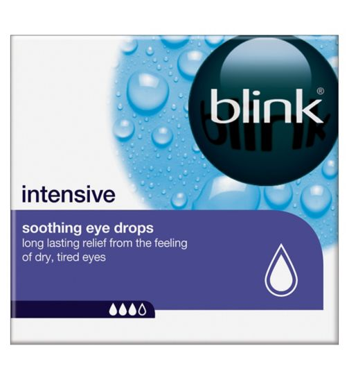 <p>Blink Intensive soothing eye drops - 20x0.4ml</p>