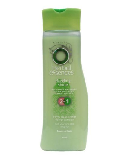 Herbal Essences 2 in 1 Shampoo and Conditioner Dazzling Shine 400ml