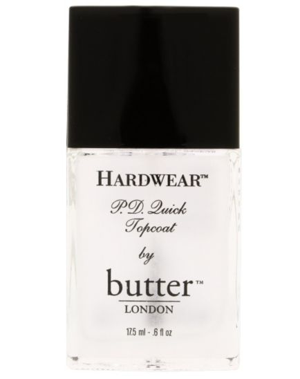<p>Butter London Hardwear PD Quick Topcoat 17.5ml</p>