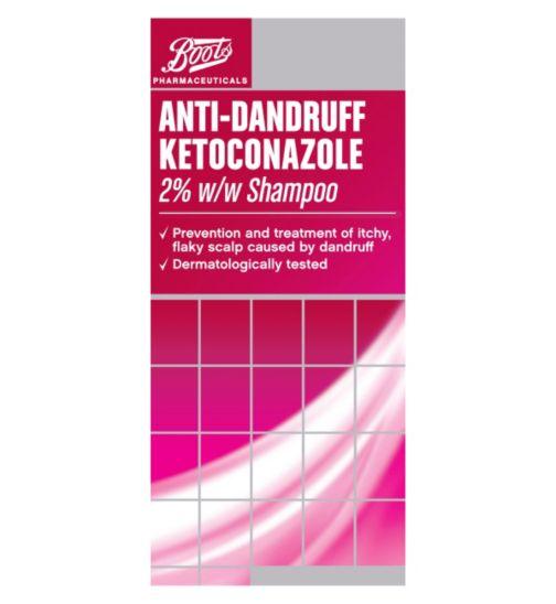 Boots Pharmaceuticals Anti-Dandruff Ketoconazole 2% w/w Shampoo