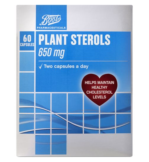 Boots Heart Health Plant Sterols - 60 Capsules