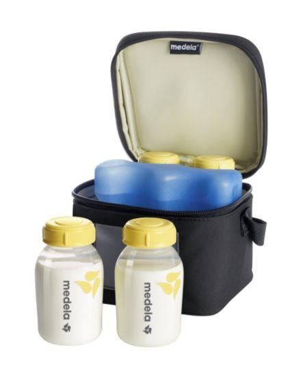 Medela Cooler Bag with 4Storage Bottles