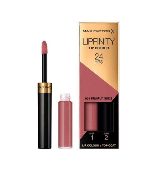 Max Factor Lipfinity Nudes Lipstick