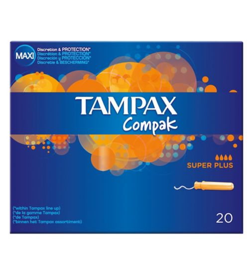 Tampax Compak Super Plus 20 Tampons