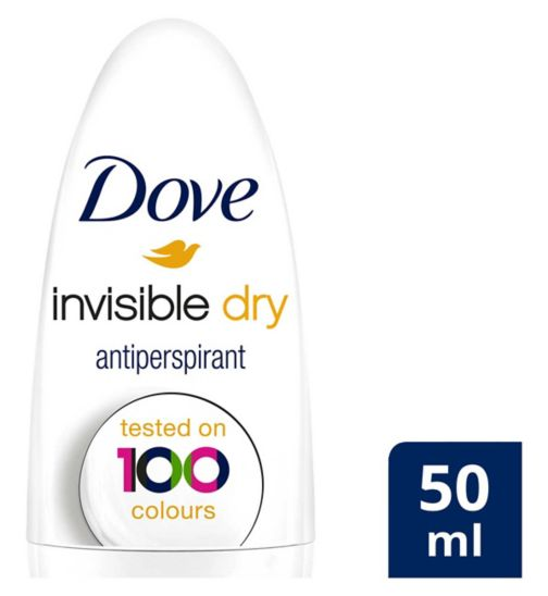 Dove Anti-perspirant Deodorant Roll-on Invisible Dry 50ml