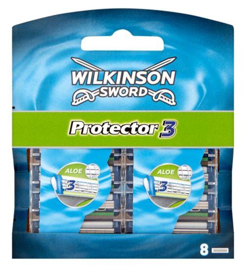 Wilkinson Sword Protector 3 Blades 8 Pack