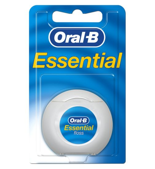 Oral B Essential Waxed Floss 50m