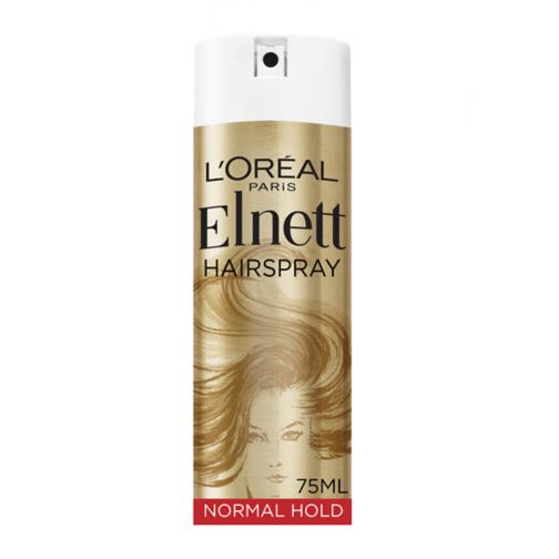 <p>L'Oreal Elnett Satin Normal Strength Mini Hairspray 75ml</p>