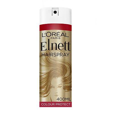 L'Oral Paris Elnett Satin Hairspray Coloured Hair Extra Strength 400ml