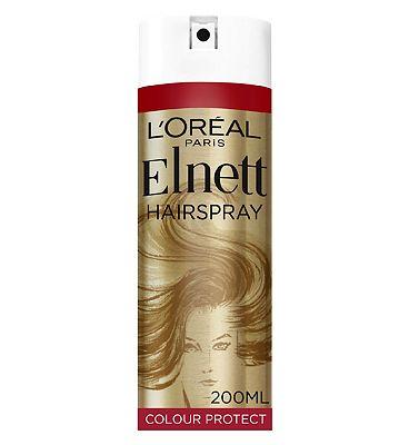 L'Oral Paris Elnett Satin Hairspray Coloured Hair Extra Strength 200ml