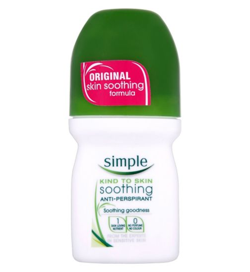 Simple Skin Kind Roll On Deodorant 50ml