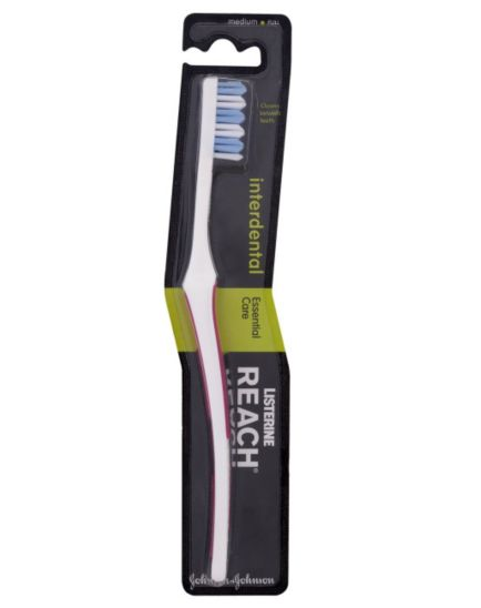 Listerine Reach Interdental Medium Toothbrush