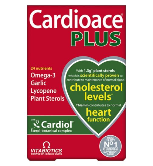 Vitabiotics Cardioace Plus - 60 capsules