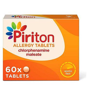 Piriton Allergy Tablets - 60 Tablets