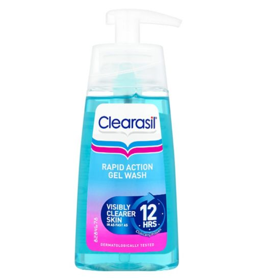 Clearasil Ultra Rapid Action Gel Wash 150ml