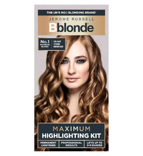 Jerome Russell Bblonde Maximum Highlighting Kit No.1