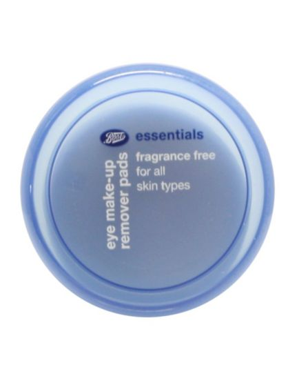 Boots Essentials Fragrance Free Eye Make up Remover Pads 40
