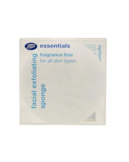 Boots Essentials Fragrance Free Facial Exfoliating Sponge