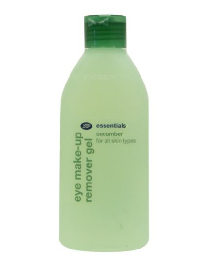 Boots Essentials Cucumber Eye Make Up Remover Gel 150ml