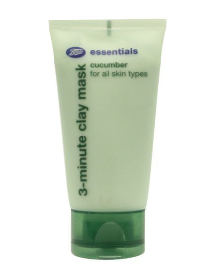 Boots Essentials Cucumber 3 Minute Clay Mask 50ml
