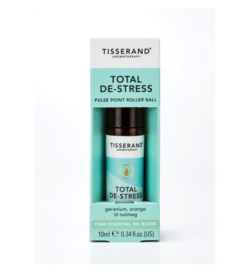 Tisserand De-Stress Aromatherapy Roller Ball - 10ml