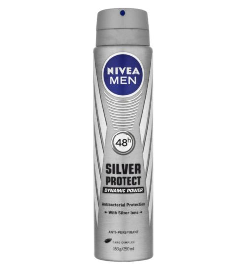 NIVEA MEN Silver Protect Anti-Perspirant Deodorant 250ml