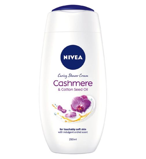 NIVEA Cashmere Moments Shower Cream 250ml