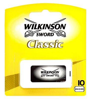 Wilkinson Sword Classic Double Edge Razor Blades x10