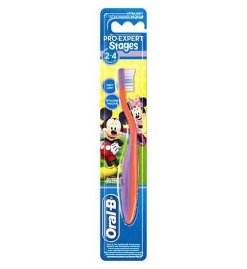 Oral-B Stage 2 Manual Toothbrush 2-4 Years
