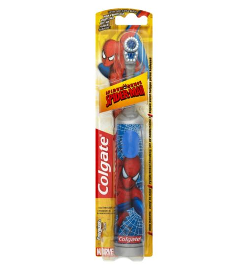 Colgate Spiderman Extra Soft Battery Kids Toothbrush