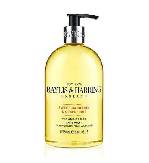 Baylis & Harding Sweet Mandarin & Grapefruit Handwash 500ml
