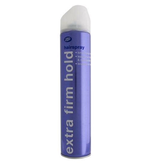 Boots Essentials Extra Firm Hold Hairspray 450ml