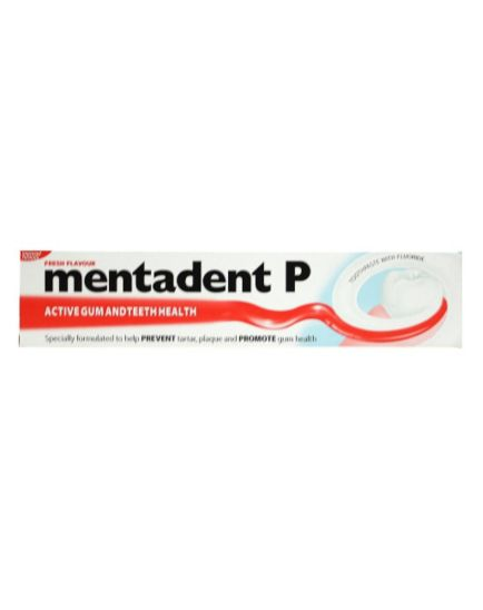 Mentadent P Fresh Flavour Toothpaste 100ml