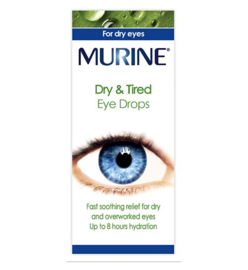 Murine dry & tired eyes eye drops - 15ml