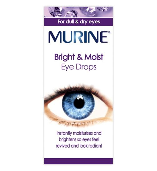 Murine bright & moist eyes eye drops - 15ml
