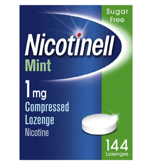Nicotinell Mint 1mg Lozenge - 144 lozenges