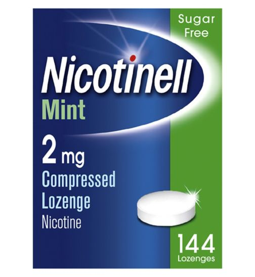 Nicotinell Mint 2mg Lozenge - 144 lozenges