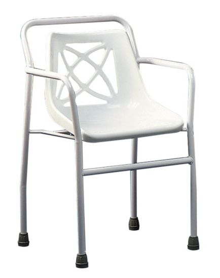 <p>Homecraft Harrogate Shower Chair - Fixed Height</p>