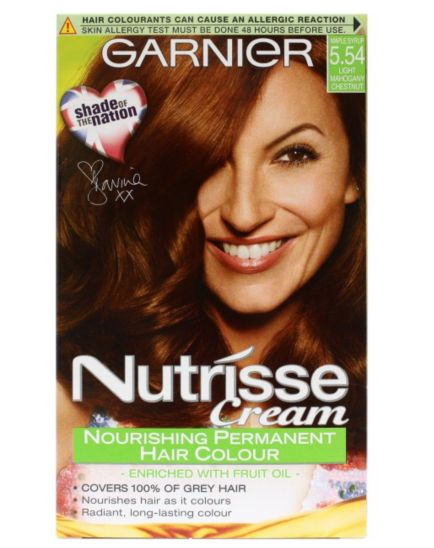 <p>Garnier Nutrisse Cream Permanent Colour</p>