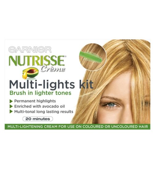 <p>Garnier Nutrisse Cr&egrave;me Multi-Lights Kit 1</p>