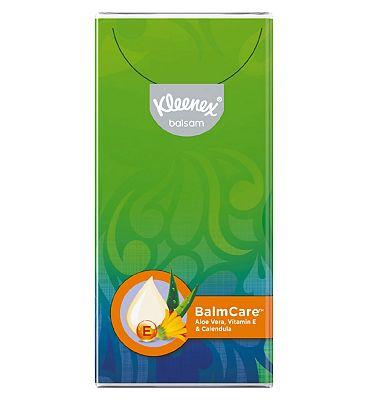 Kleenex Balsam Pocket Tissues - Single Pack