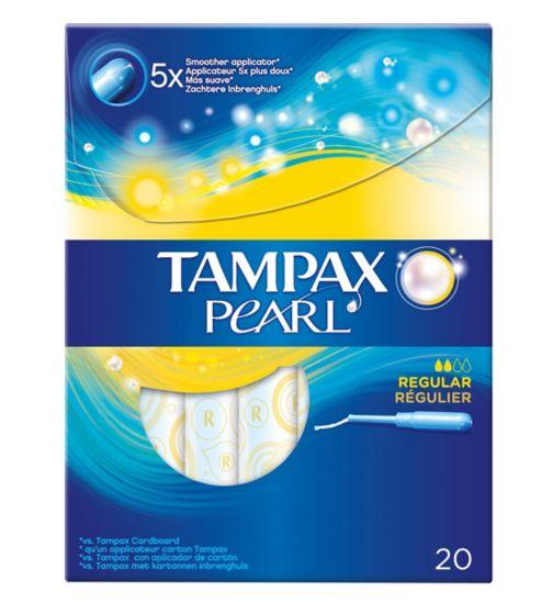 Tampax Pearl Regular Tampons x20