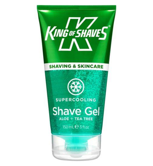 King of Shaves Supercooling Shave Gel 150ml