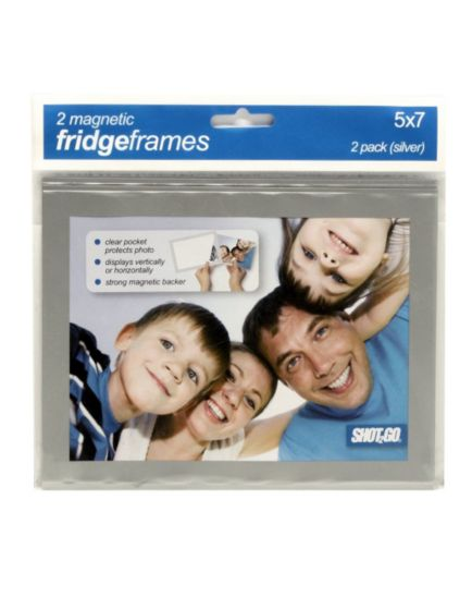 <p>Shot 2 Go Magnetic Fridge Frames 5x7 - 2 pack</p>