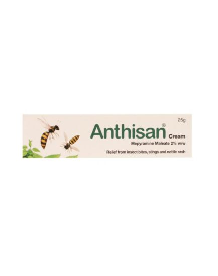 <p>Anthisan Cream - 25g</p>