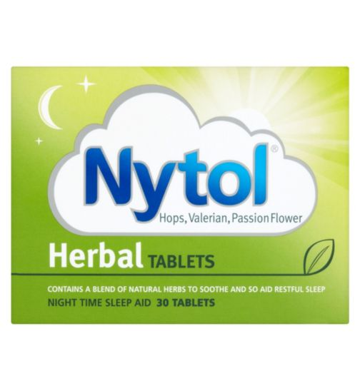 Nytol Herbal Tablets Night Time Sleep Aid 30 Tablets