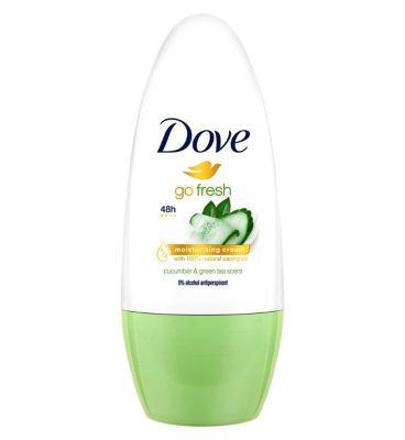 Dove Go Fresh Anti Perspirant Deodorant Roll On Cucumber 50ml by Dove